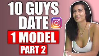 Dating Coach Reacts to 10 Guys Speed Dating 1 Super Model Part 2 |  @Teachingmensfashion