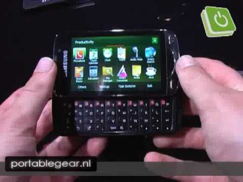 Samsung Omnia Qwerty / Pro (B7610) preview