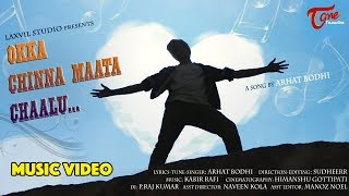 Okka Chinna Maata Chaalu   Telugu Music Video 2017   By Arhat Bodhi