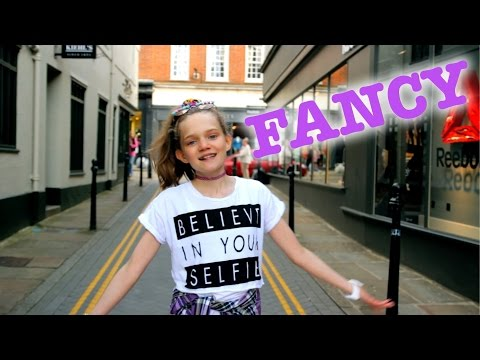 Iggy Azalea - Fancy (Clean) ft. Charli XCX - Cover by 12 year old Sapphire