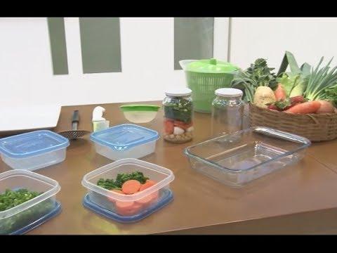 Como preparar e armazenar alimentos sem perder os nutrientes