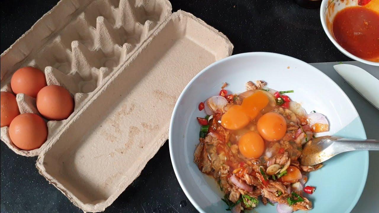 ไข่เจียวปลากระป๋อง เมนูกักตัวง่ายๆ l อร่อยพุง #เฟิร์มอร่อยจากเม้น