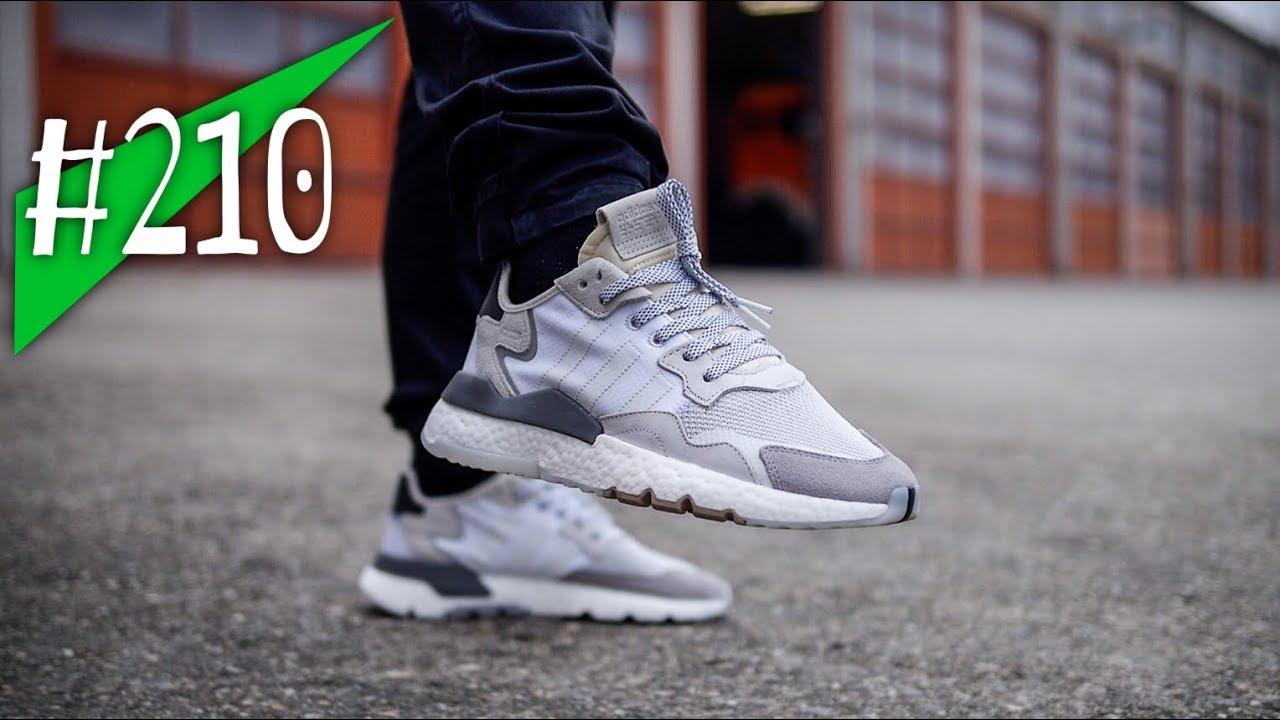 #210 adidas Nite Jogger + asphaltgold Ripstop Bag Reviewon feet sneakerkult