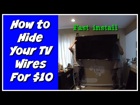 How To Hide Your TV Wires
