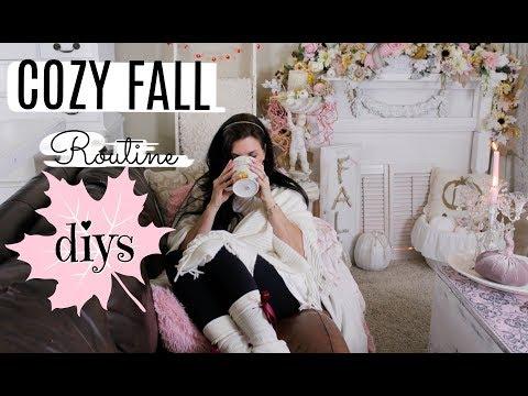 """COZY FALL ROUTINE 🍁DIYS🍁 """"I Love Fall"""" ep. 17"""