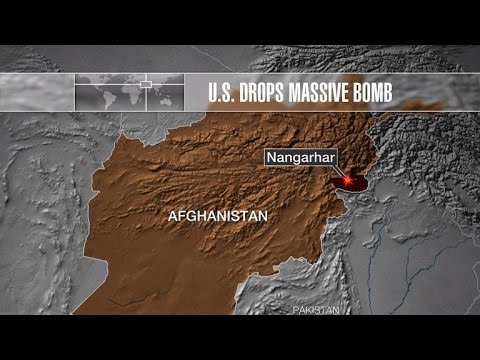 U.S. drops massive bomb on ISIS in Afghanistan