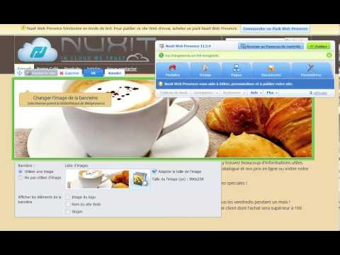Créer un site avec Nuxit Web presence
