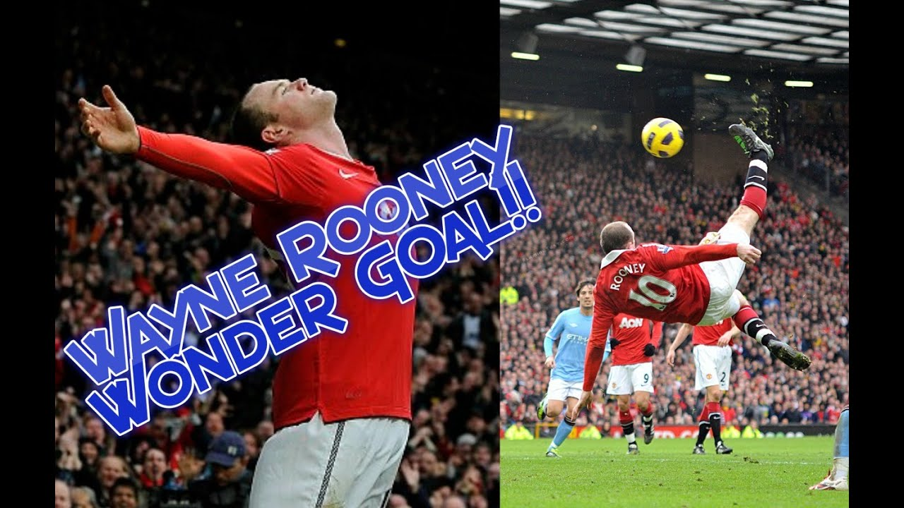 Wayne Rooney Overhead Bicycle Kick Goal vs Manchester City ...