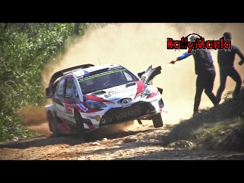 WRC Vodafone Rally de Portugal 2017 - FLAT OUT & SHOW [HD]