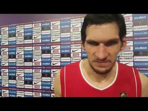 "Boban Marjanovic: ""We will need to do everything to beat Slovenia"""