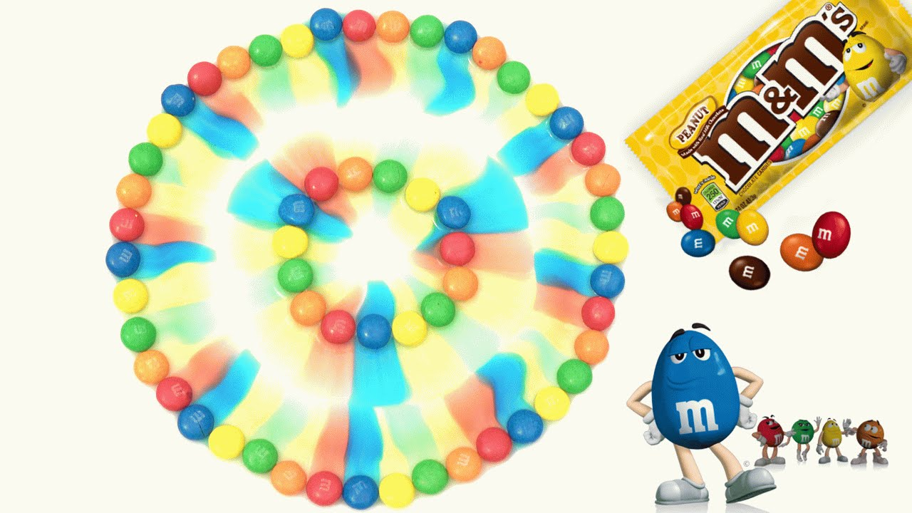 Arcoiris de M&M\'s | agua + M&M\'s - YouTube