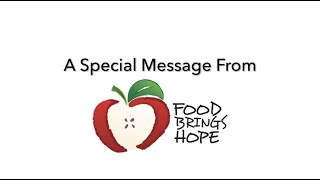Food Brings Hope 2020