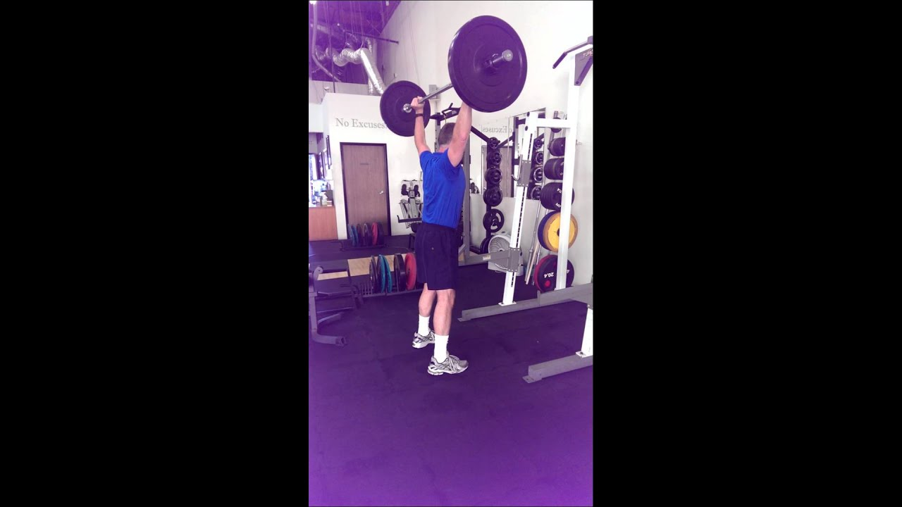 hang clean and press how to learn