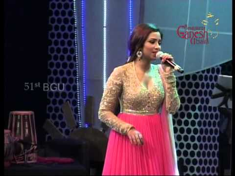 Bengaluru Ganesh Utsava 51st year - Shreya Ghoshal part 3