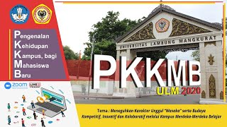 PKKMB Universitas Lambung Mangkurat Tahun 2020