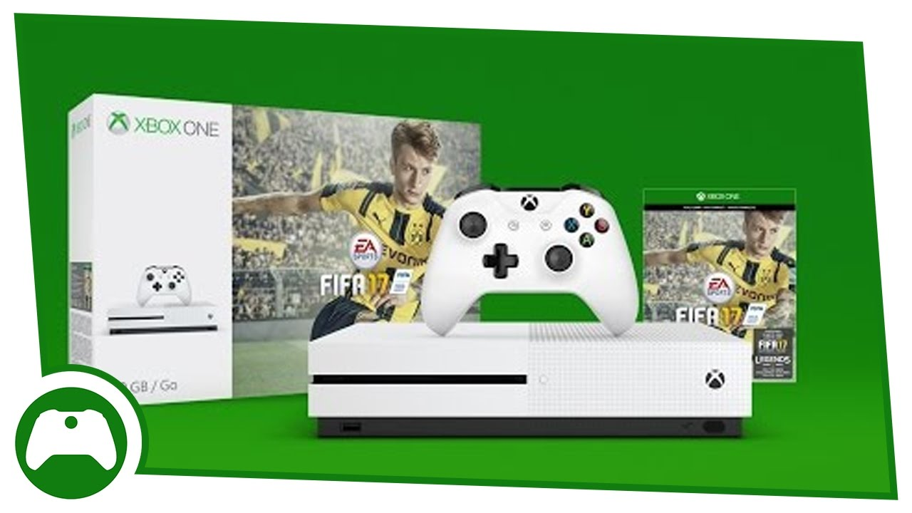 6 reasons fifa 17 is best on xbox one s fifa 17 bundle unboxing 4k youtube. Black Bedroom Furniture Sets. Home Design Ideas