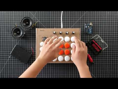 Rhythmo cardboard beat machine