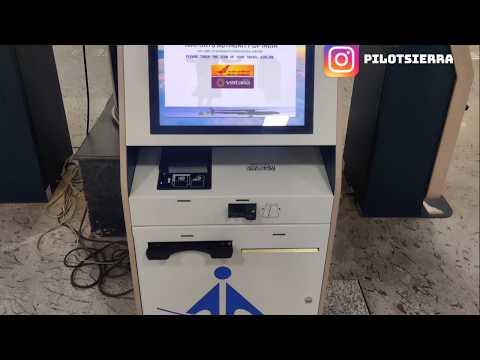 Using Airport kiosk to print Boarding pass post lockdown flights