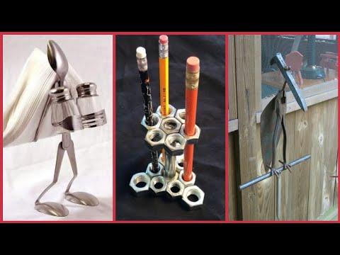 Beautiful artistic recycle metal art ideas