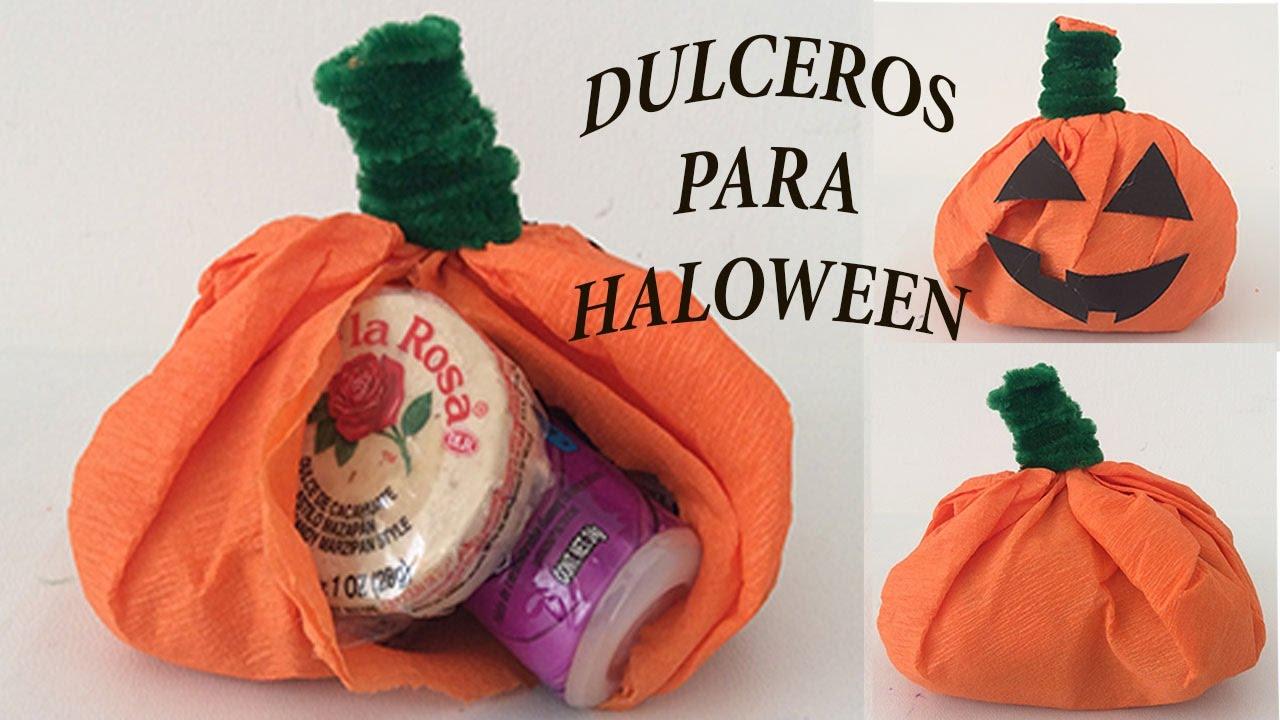 Halloween Pumpkin Paper Crafts