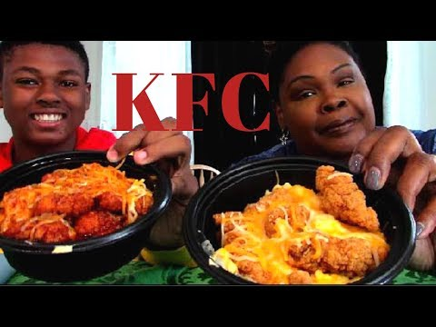 NEW KFC MAC N CHEESE BOWLS   Orginal & Spicy   Shoutouts