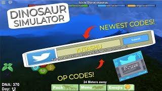Roblox Dinosaur Simulator - ALL 2019 CODES FOR THIS SIMULATOR - Roblox Codes