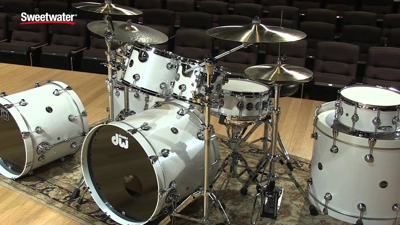 DW Performance Lacquer Series 5 Piece Drum Kit Review By Sweetwater
