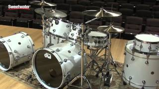 DW Performance Lacquer Series 5-piece Drum Kit Review by Sweetwater