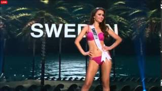 MISS UNIVERSE 2014-2015 PRELIMINARY COMPETITION - SWEDEN