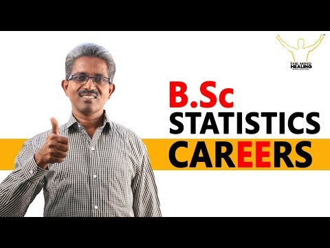 CAREERS IN STATISTICS – B.Sc,M.Sc,Statisticians,Job Opportunities,Research
