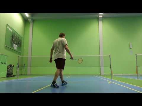 2019-02 Badminton - 6. Ostravský kanár SINGLY B - Záznam utkání Juračka Robert vs. Zinglar David