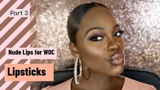 Category Is... NUDE LIPSTICKS for WOC | 2019