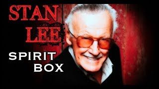 STAN LEE SPIRIT BOX SESSION. HIS voice ANSWERS from Beyond. Amazing.