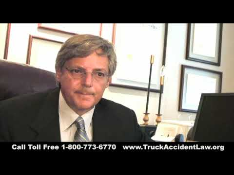 Little Rock AR Big Rig Accident Lawyers - Arkansas Semi Accident Attorney - Driver Fatigue