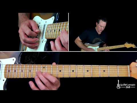 Muse - Hysteria Guitar Lesson