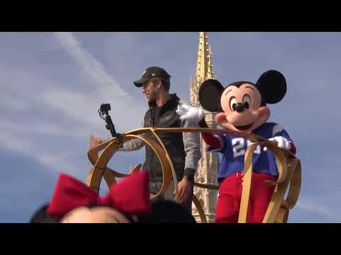 Philadelphia Eagles Super Bowl MVP Nick Foles at Walt Disney World