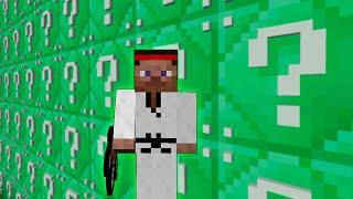 Minecraft: LUCKY BLOCKS ESMERALDA | STEVE LEE!! | Desafío de la Suerte Especial - #69