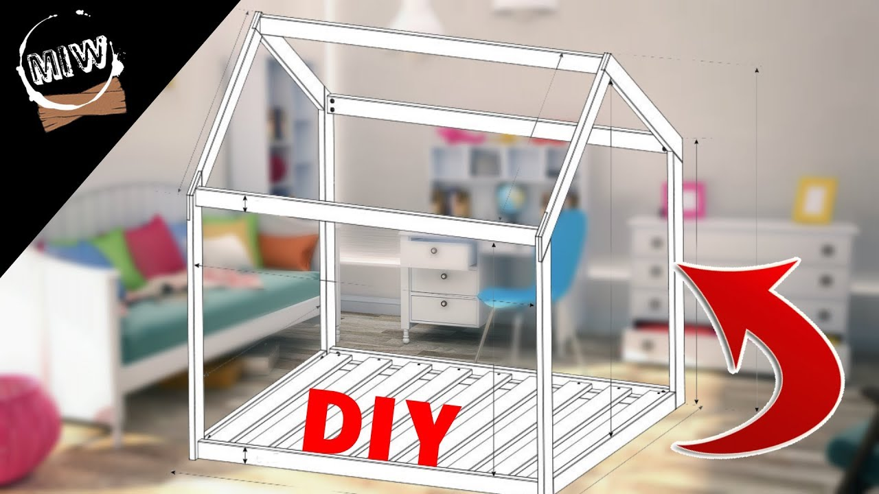 DIY LIT CABANE / cabin bed MIW - YouTube