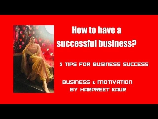 5 business strategy tips from successful entrepreneurs