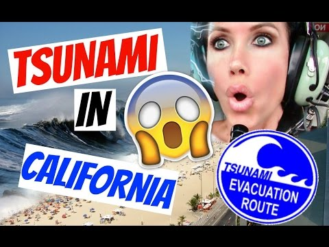 TSUNAMI IN CALIFORNIA