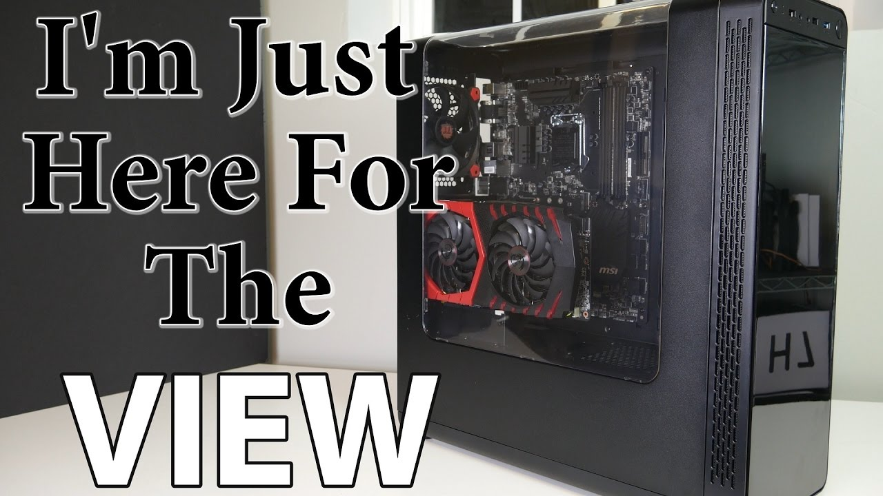 A Gullwing Door Thermaltake View 27 Case Review Youtube