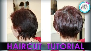 Haircut Tutorial: Women's Short Haircut (Короткая женская стрижка