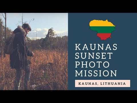 🇱🇹 KAUNAS PHOTO MISSION WITH CARL