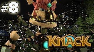 Knack - Gameplay Walkthrough - Part 8 (hd Ps4 Gameplay)