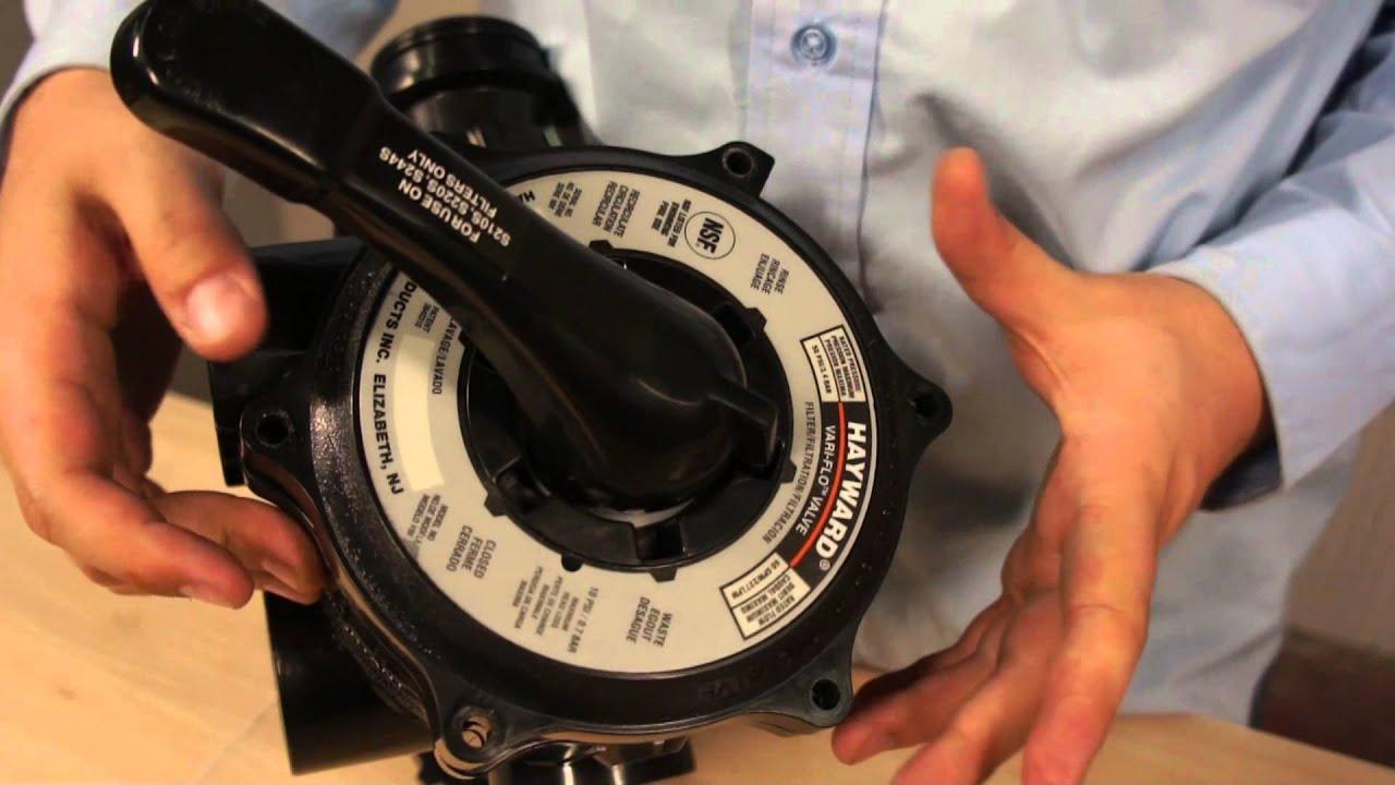Hayward De Filter Parts Diagram 1995 Ford Explorer Jbl Wiring Vari Flo Multiport Valve Sp0710x62 Youtube