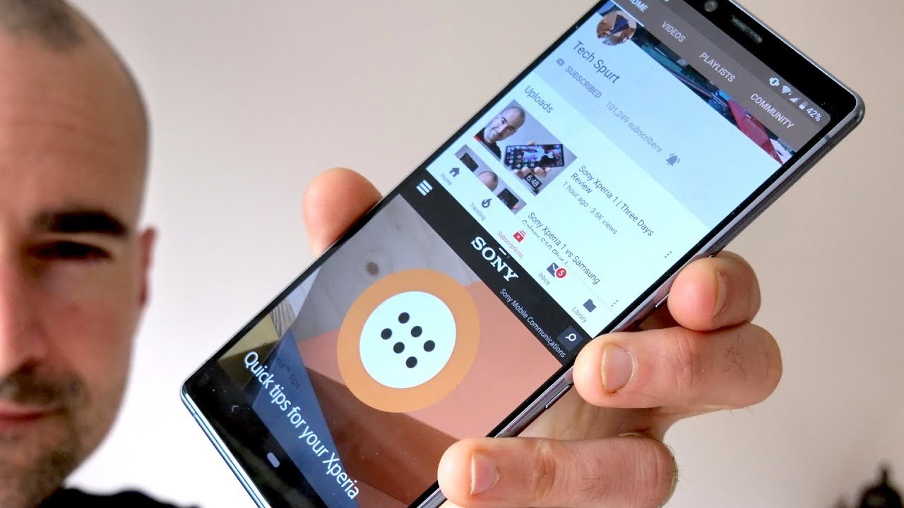 Sony Xperia 1   Best and new features - YouTube
