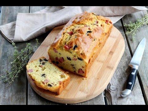 Comment pr parer un cake jambon olives youtube - Comment couper un jambon iberique ...