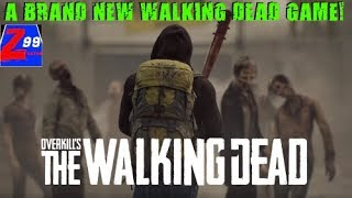 """A new walking dead game is coming this year! - overkills """"the walking dead"""" dev diary and trailer!"""
