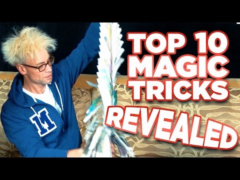10 EASY Magic Tricks To IMPRESS Your Friends REVEALED!