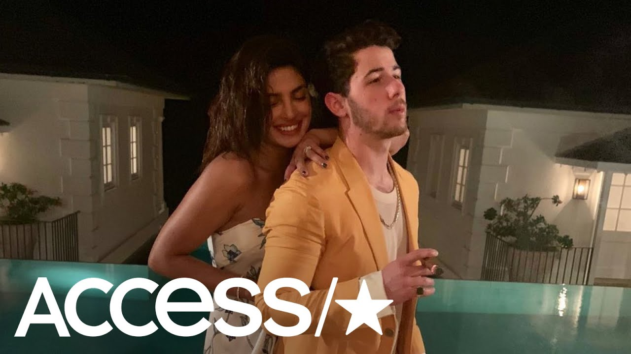 Nick Jonas & Priyanka Chopra Share A Peek At Their Secretive Beach Vacation | Access